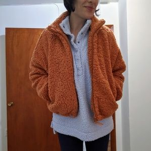 URBAN OUTFITTERS willow teddy coat